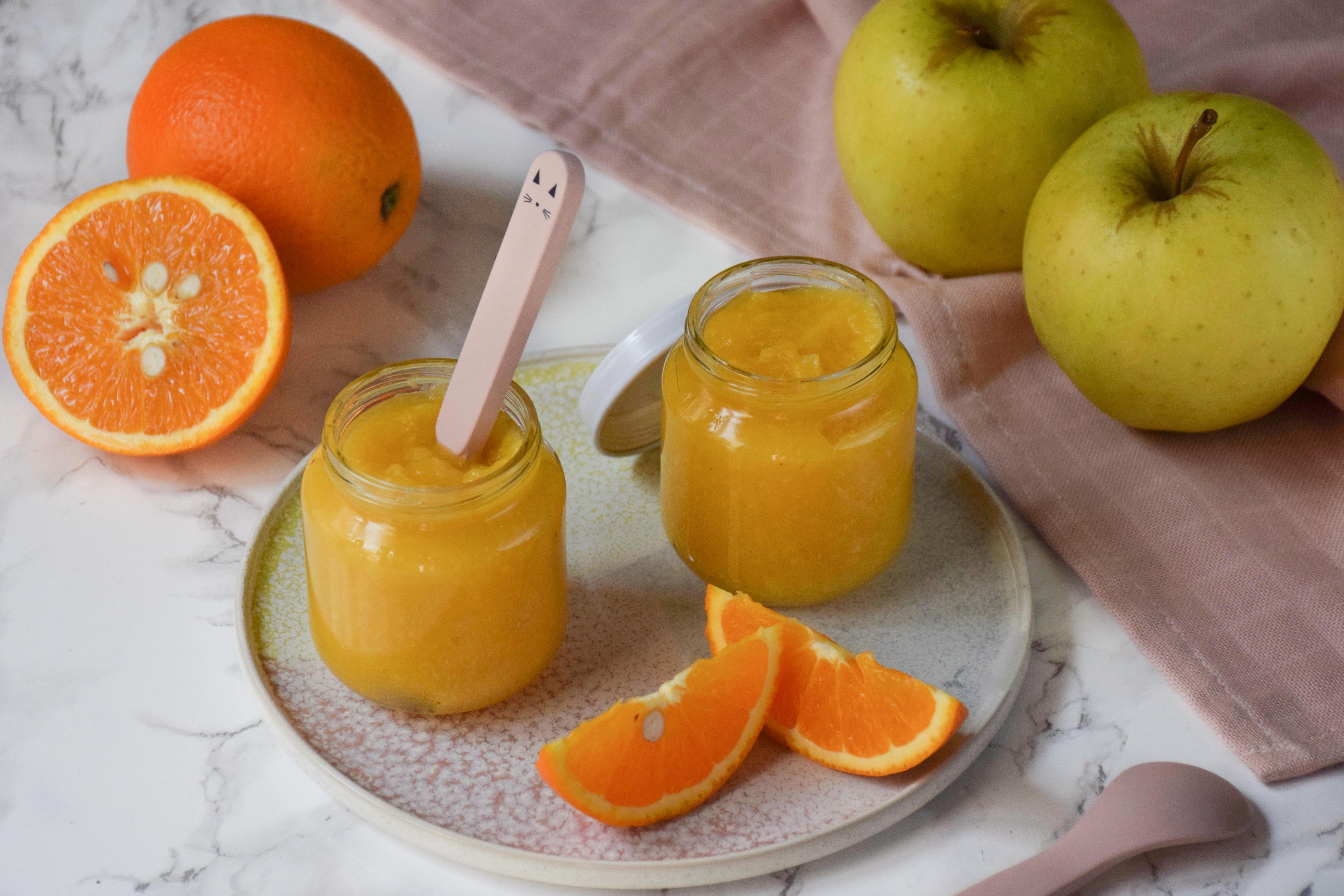Compote pomme-orange
